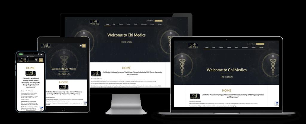 chi medics responsive website